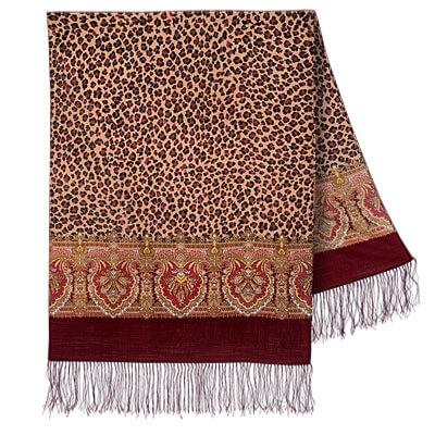 Шарф «Леопардовые сны» 1295-7