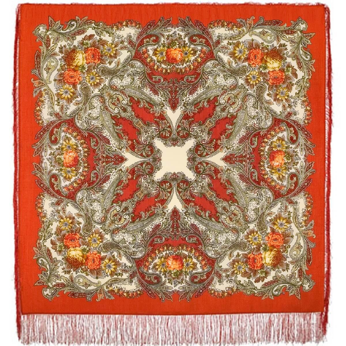 Платок «Сон бабочки» 1463-3