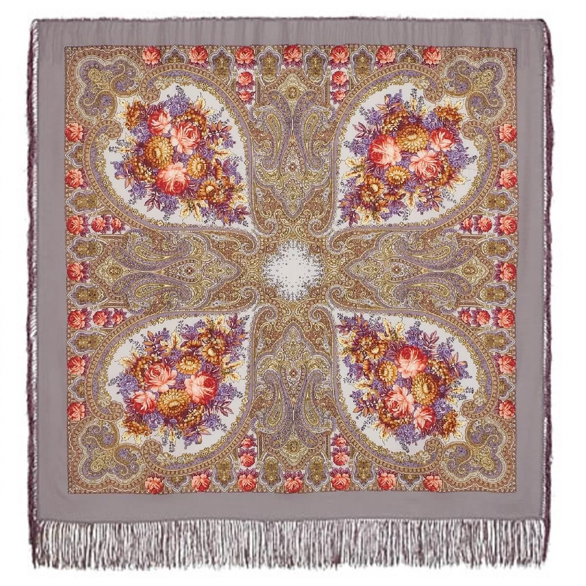 Платок «Осенние кружева» 1471-2