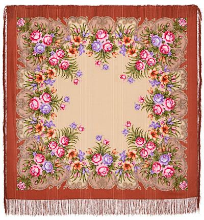 Платок «Осеннее танго» 1538-16