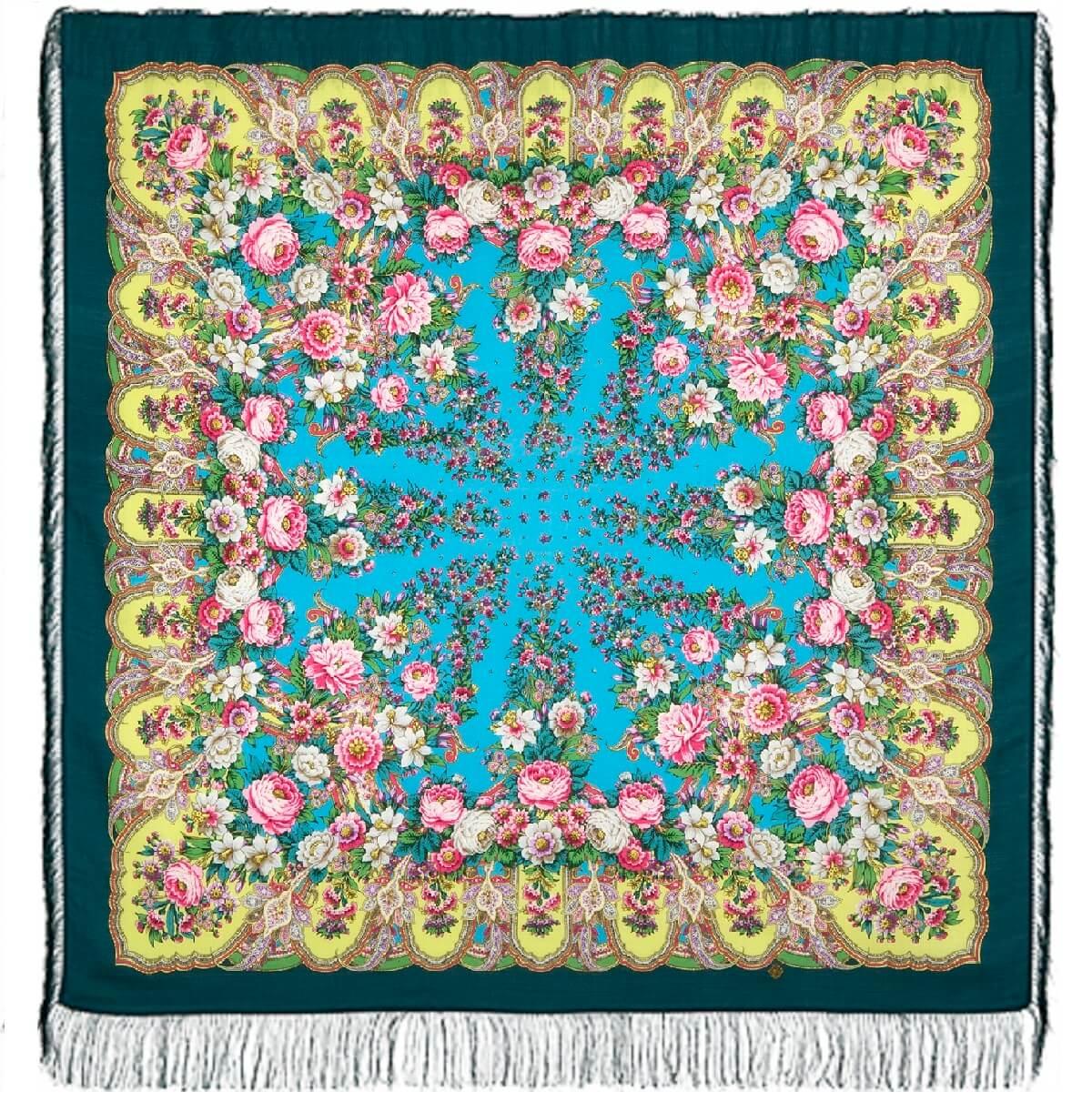 Платок «Лукоморье» 1555-9