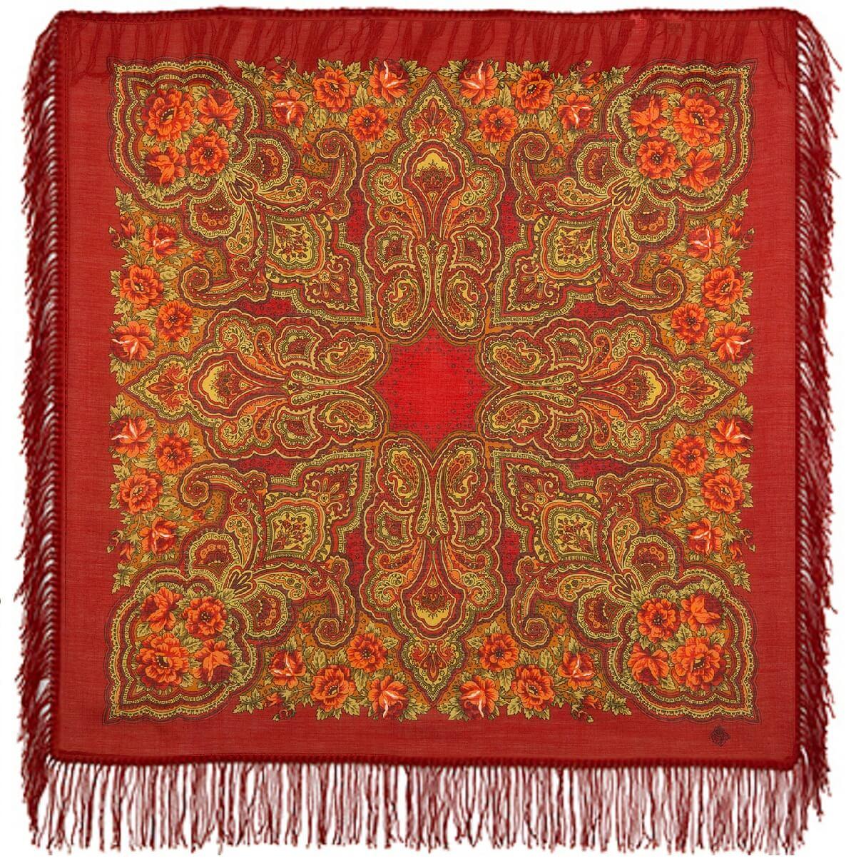 Платок «Камаринская» 1559-5