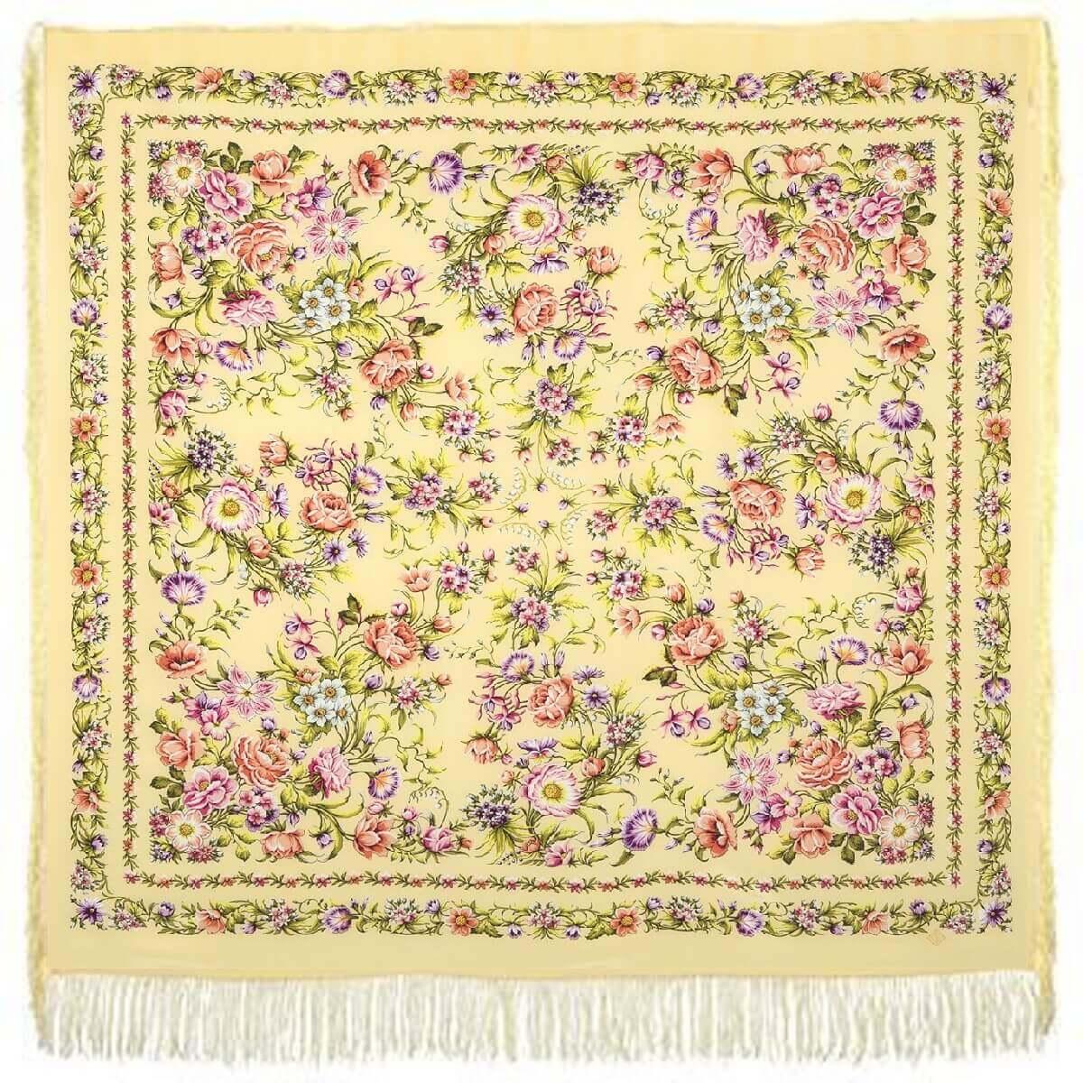 Платок «Цветущая весна» 1562-2