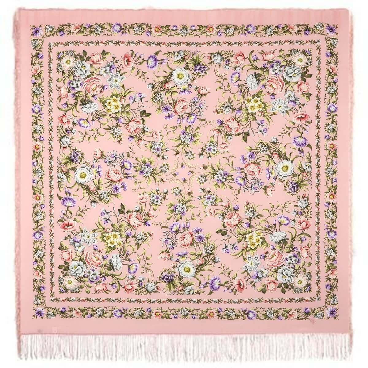 Платок «Цветущая весна» 1562-3