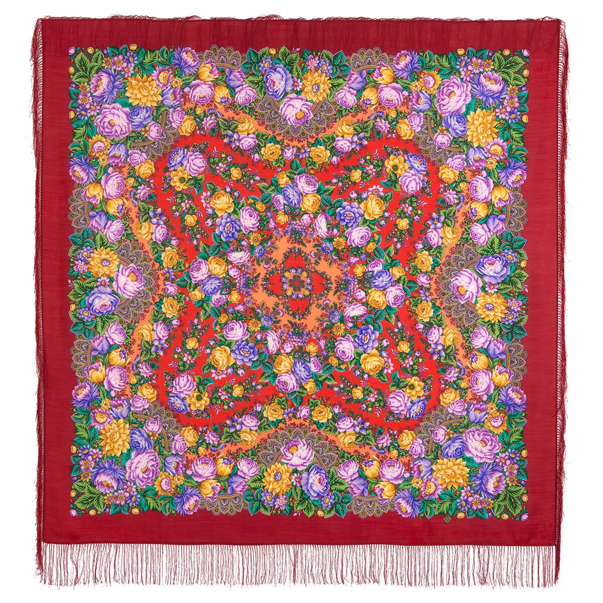 Платок «Цветочные бусы» 1797-5