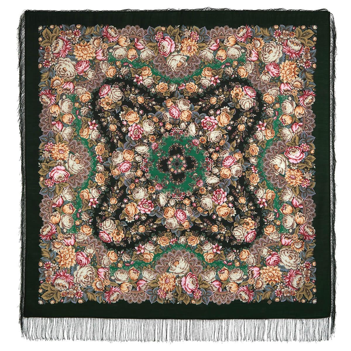 Платок «Цветочные бусы» 1797-9