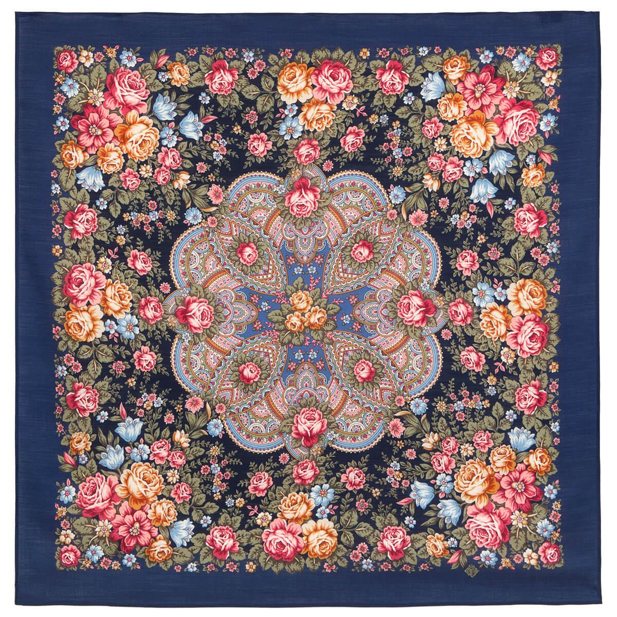 Платок «Цветочная Нимфа» 1831-14