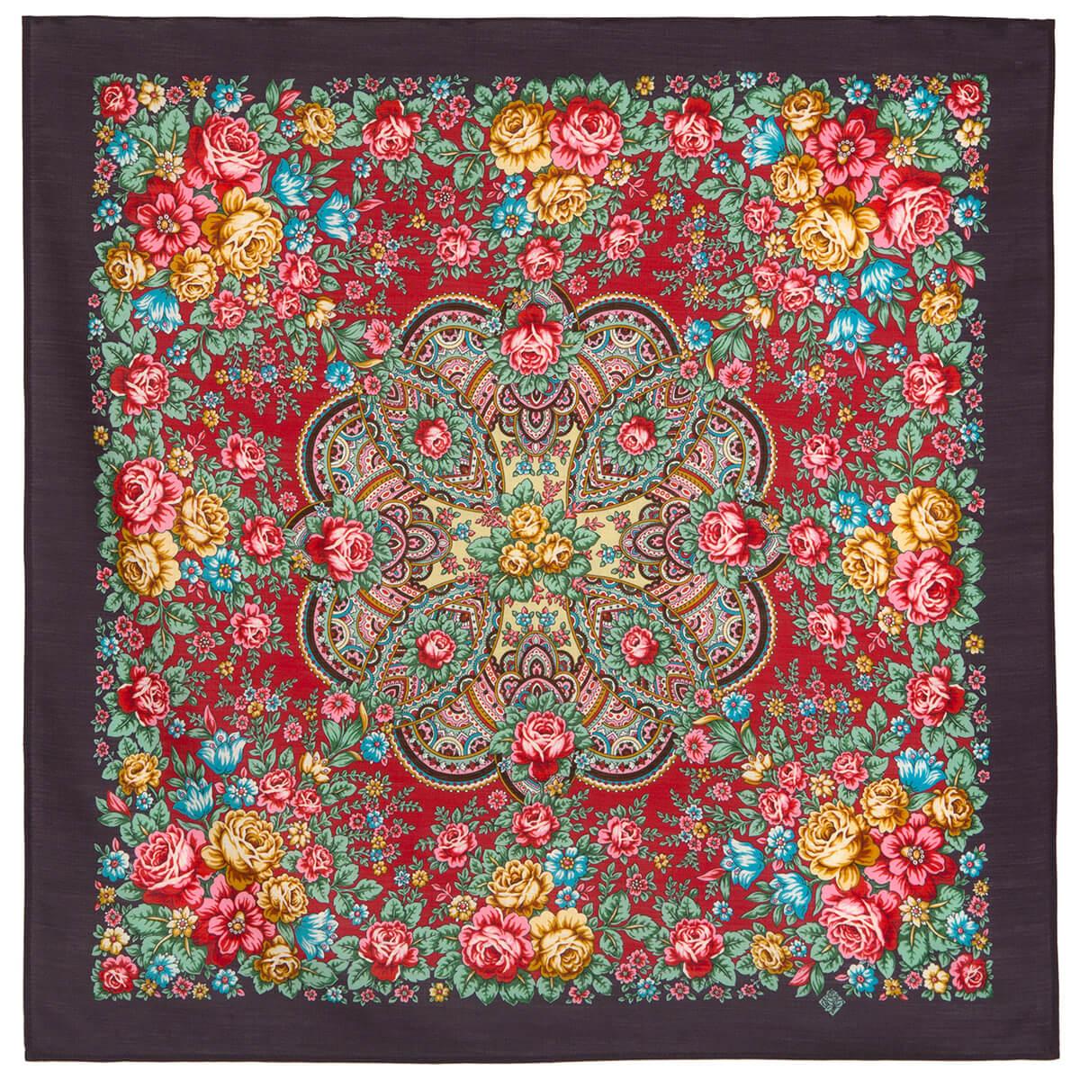 Платок «Цветочная Нимфа» 1831-15