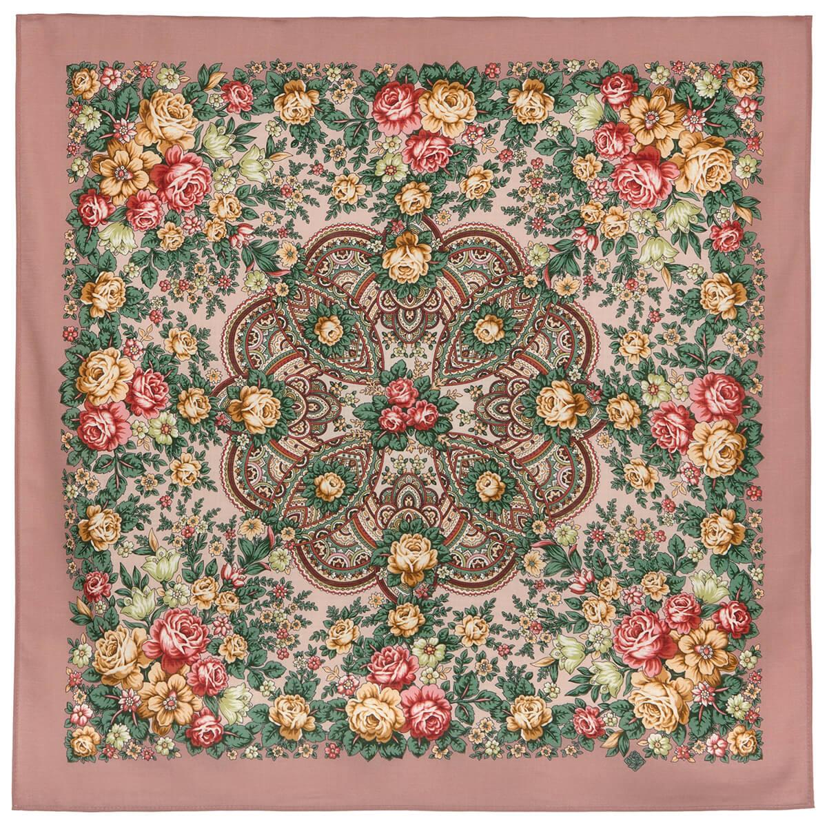 Платок «Цветочная Нимфа» 1831-16