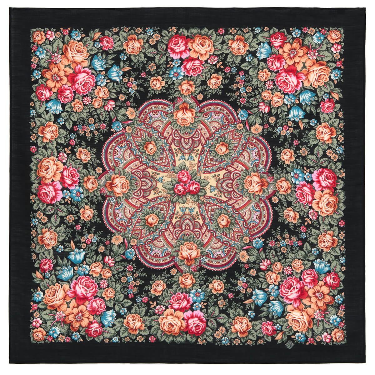 Платок «Цветочная Нимфа» 1831-18