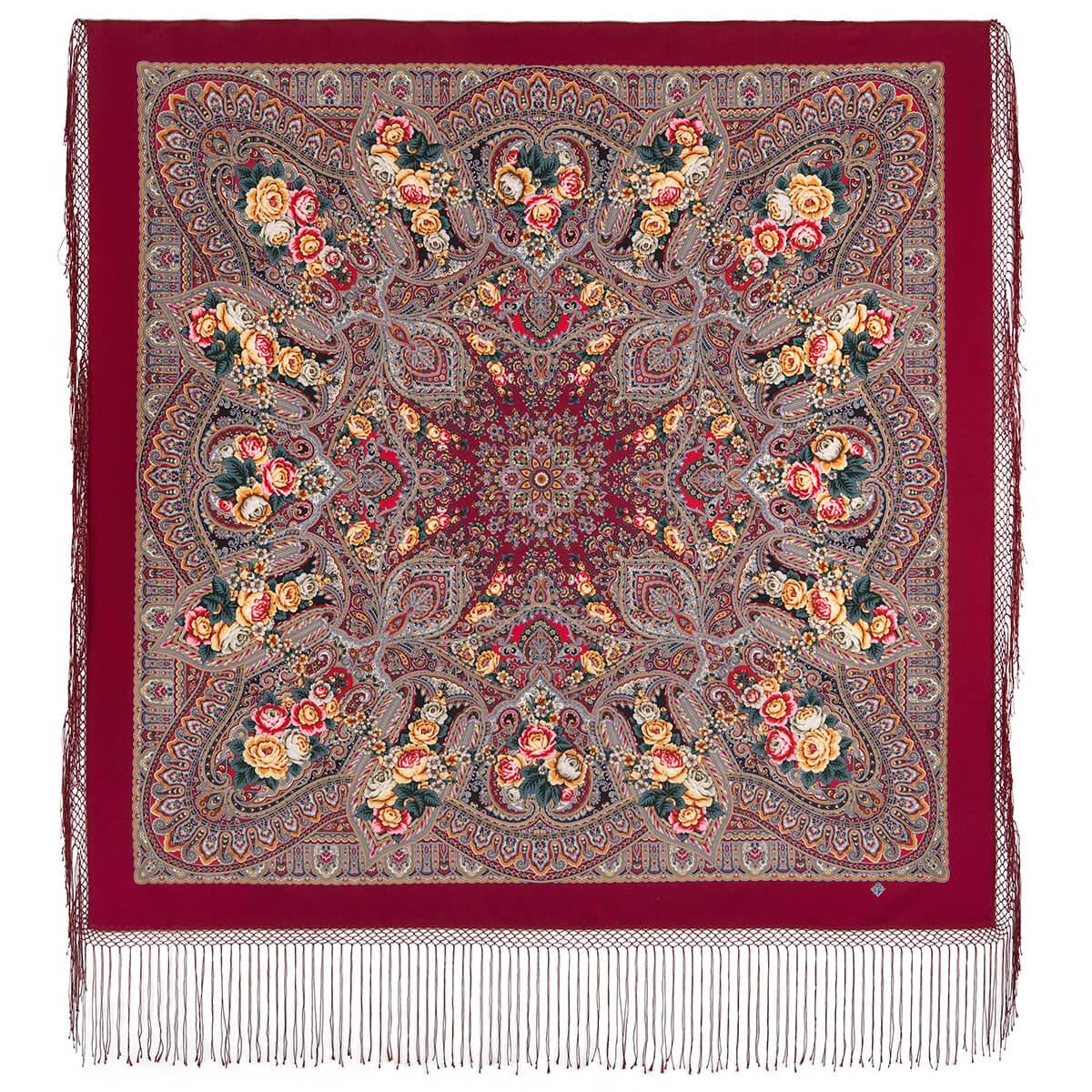 Шаль «Осенние колокола» 1845-6