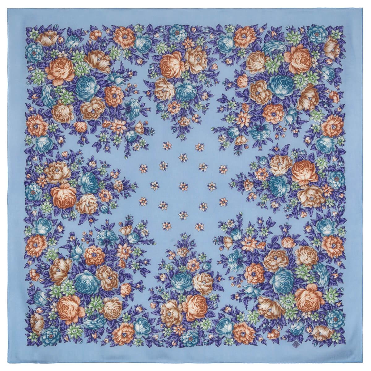 Платок «Цветы для души» 1870-13