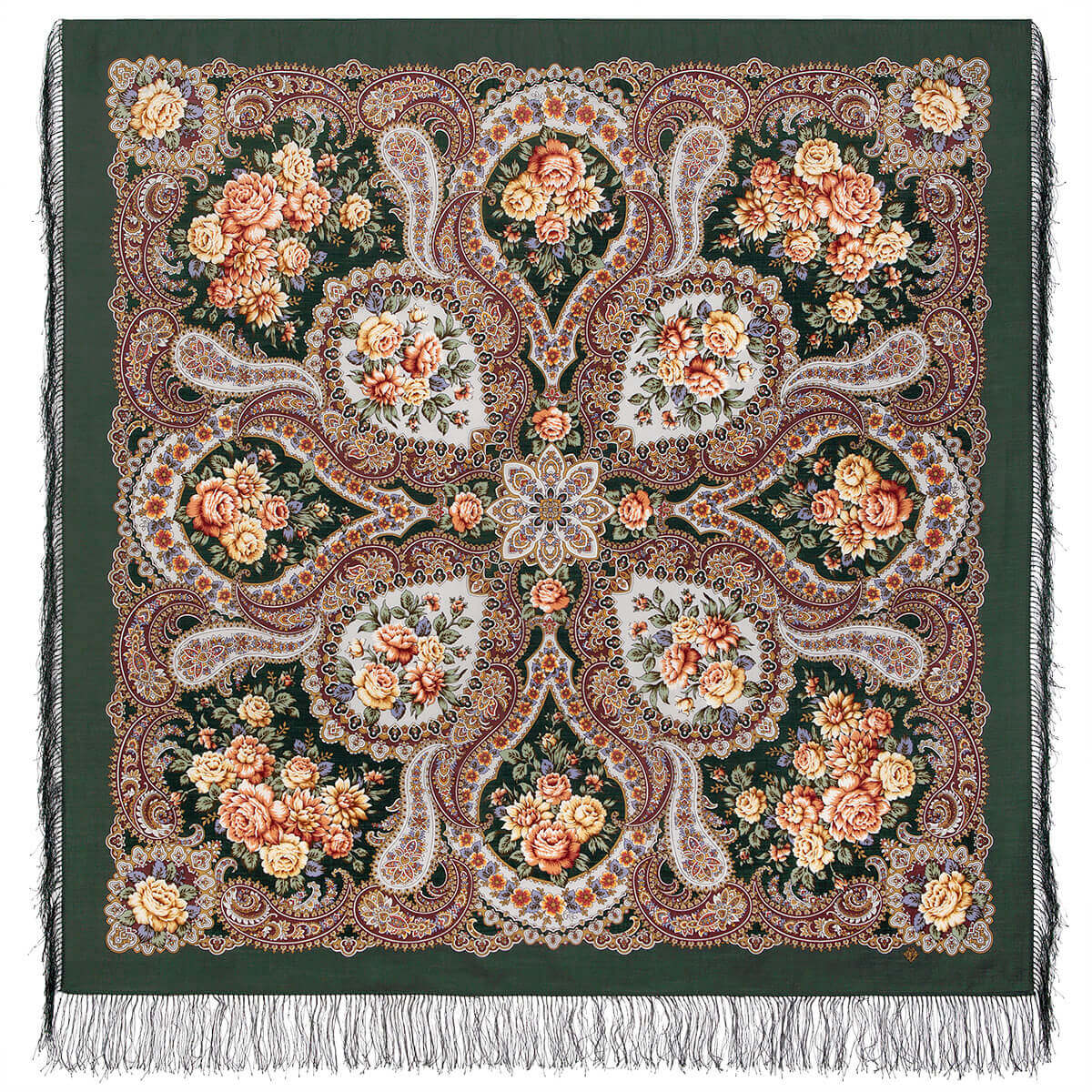 Платок «Сибирская красавица» 1873-10