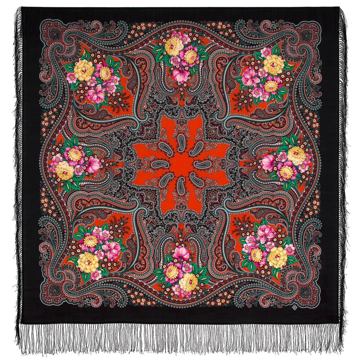 Платок «Костры осени» 1897-18