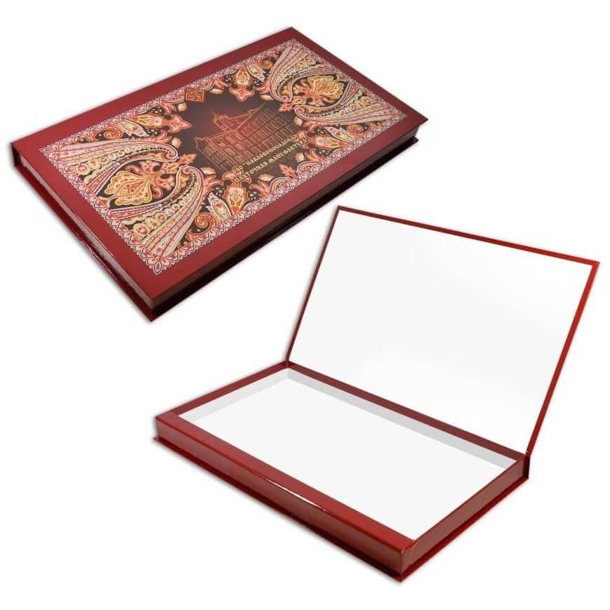 Подарочная упаковка Короб Бордо