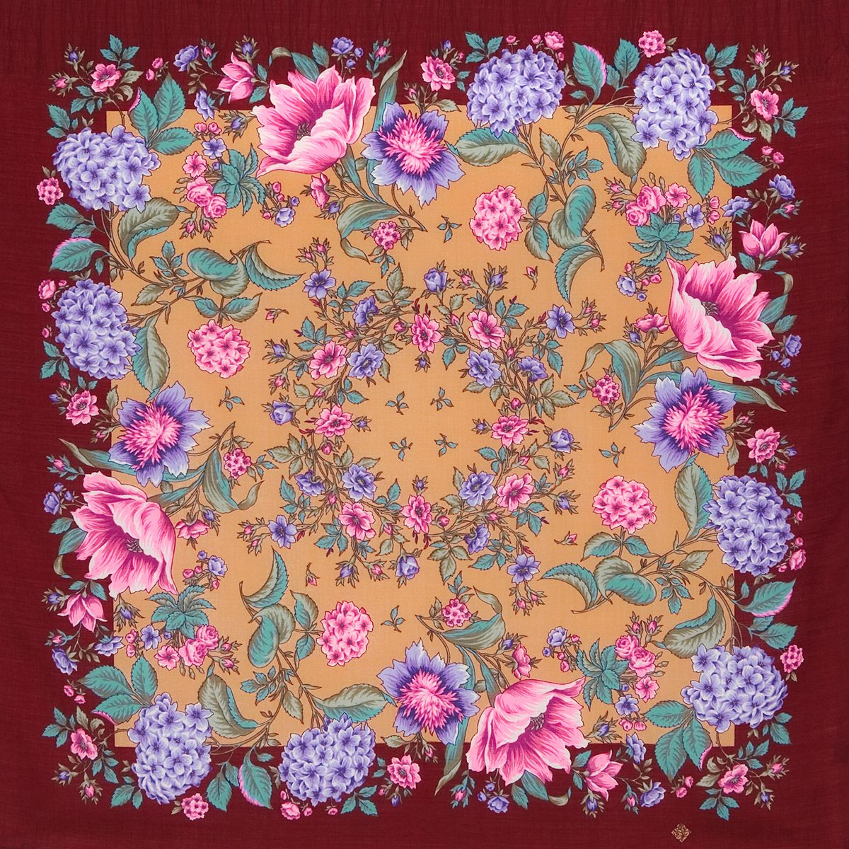 Платок «Цветомания» 1439-7