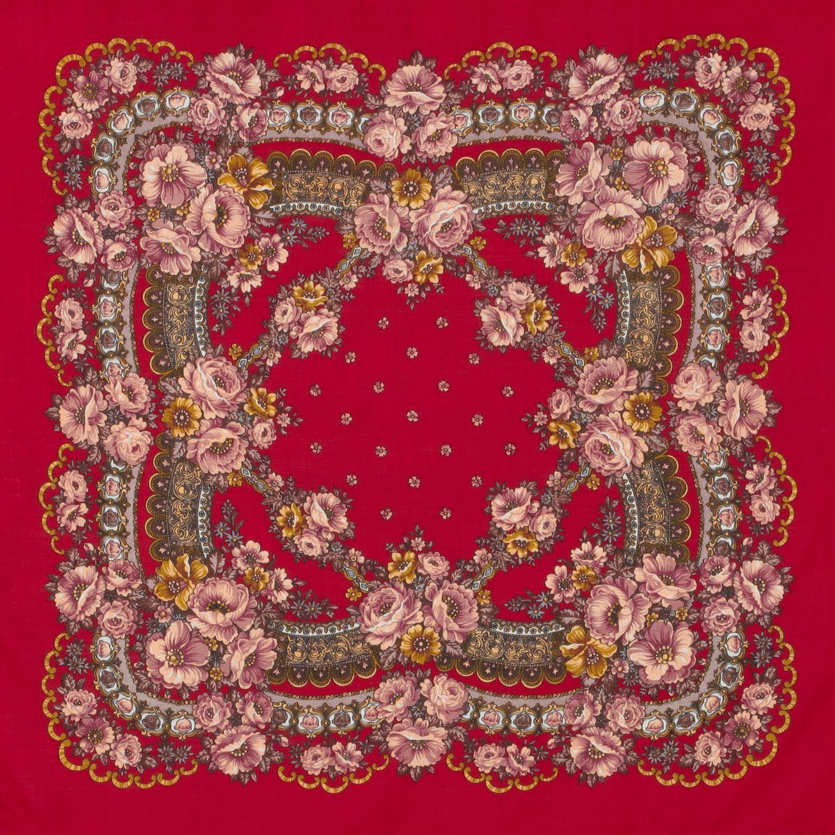 Платок «Маков цвет» 155-5