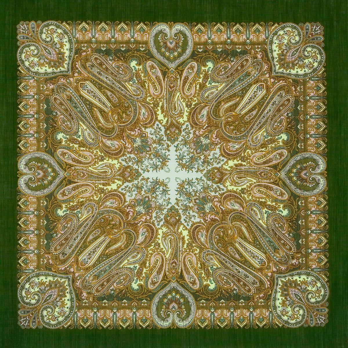 Платок «Масленичные гулянья» 1334-9