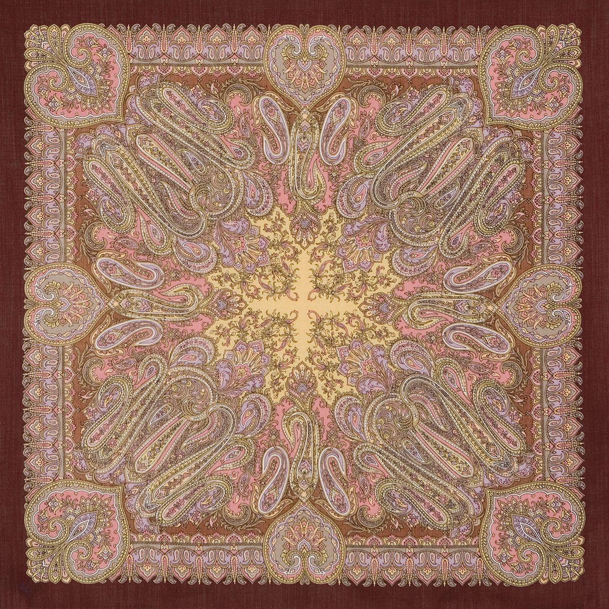 Платок «Масленичные гулянья» 1334-17