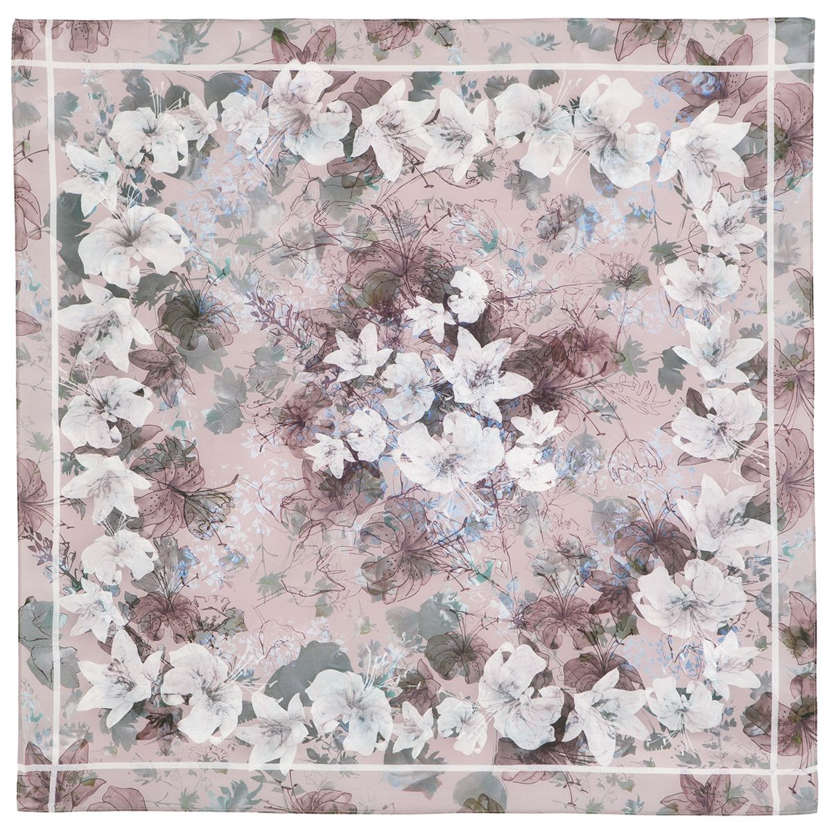 Платок «Прозрачное звучание» 10054-3