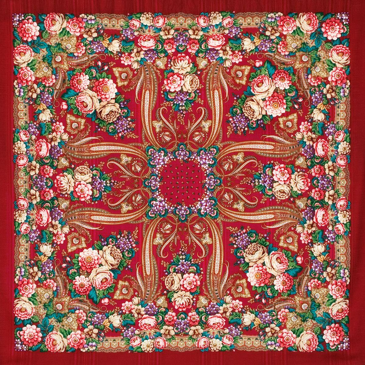 Платок «Именинница» 1446-5