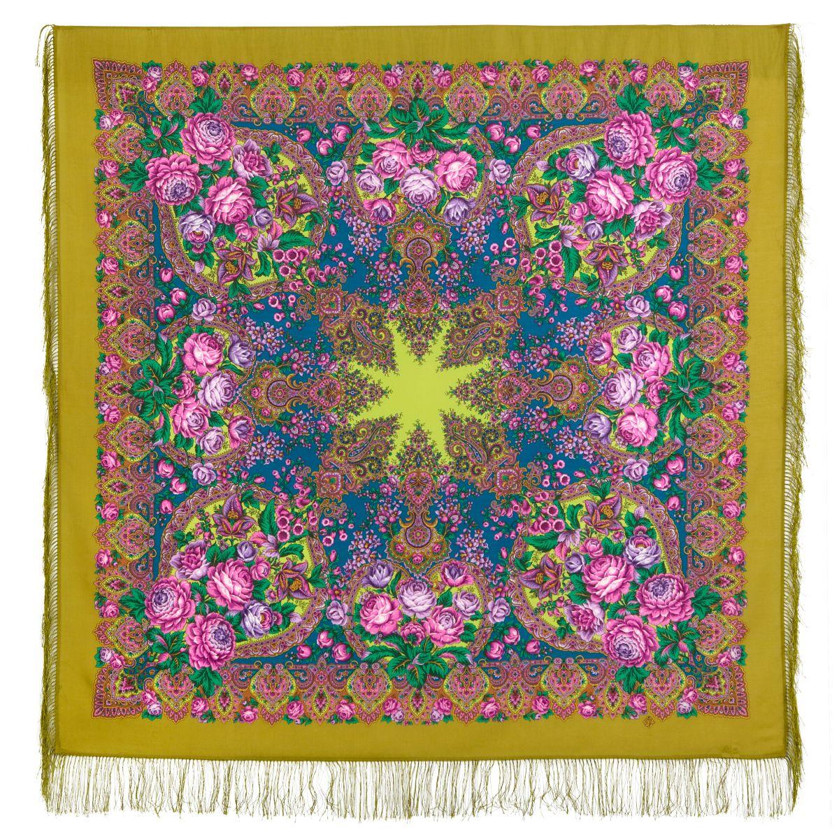 Платок «Медовый полдень» 1724-2