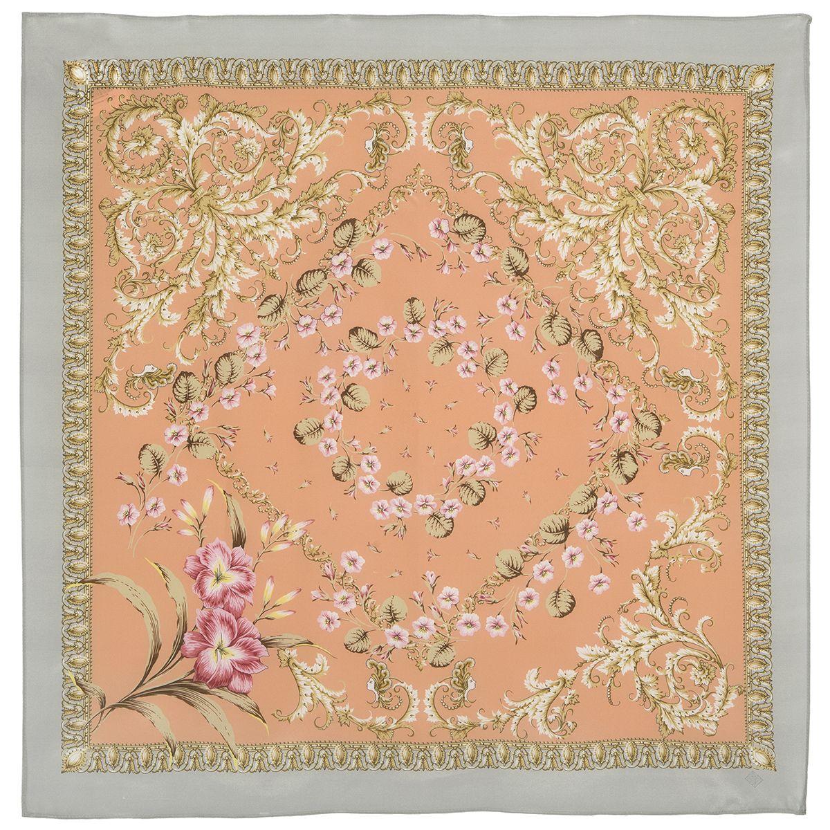 Платок «Пармские фиалки» 1382-1