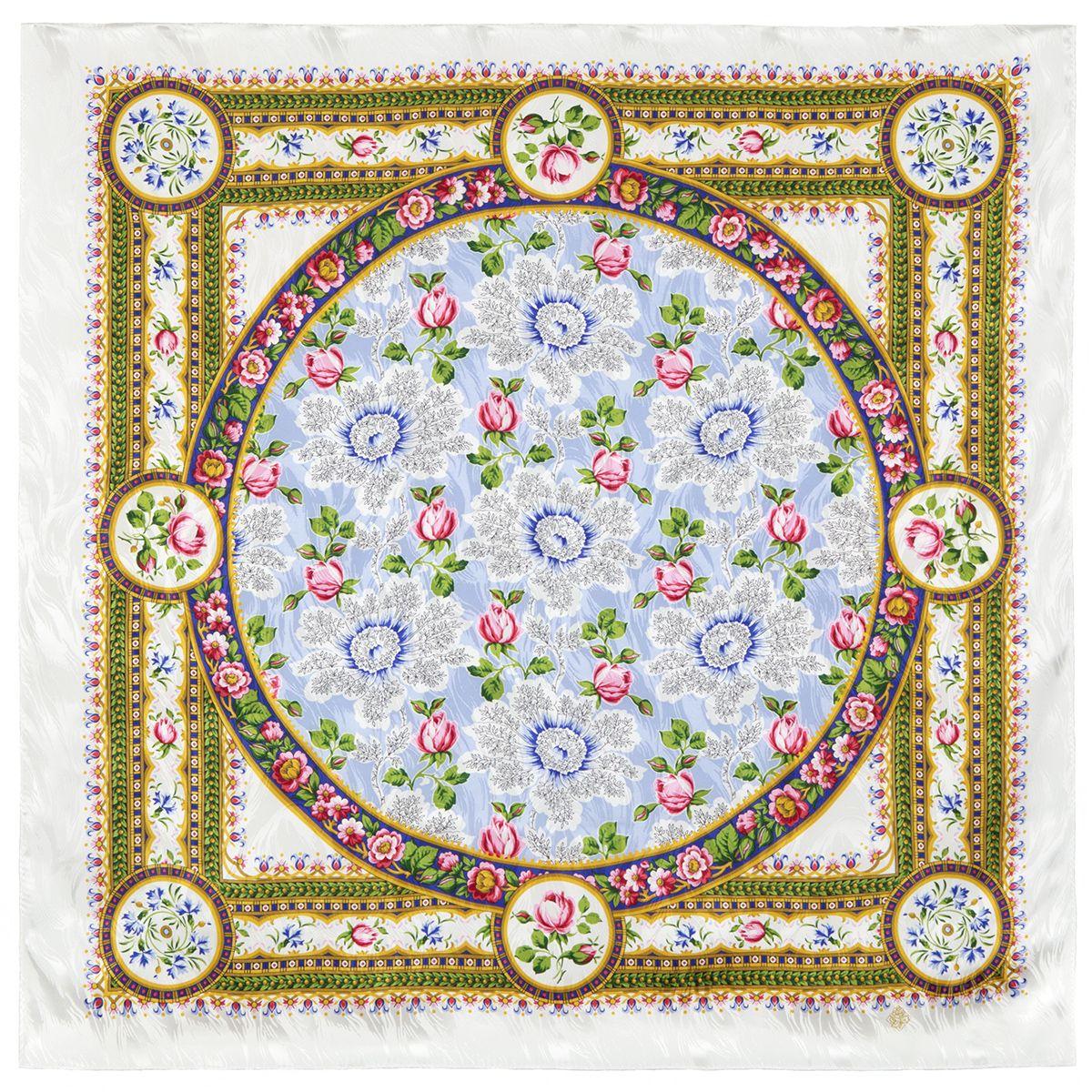 Платок «Северные цветы» 736-1