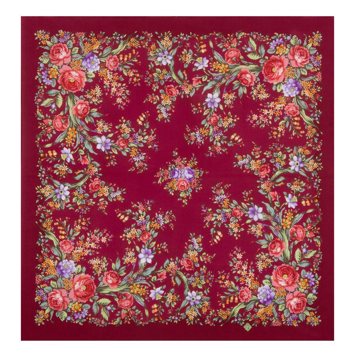 Платок «Цветочное настроение» 1732-6