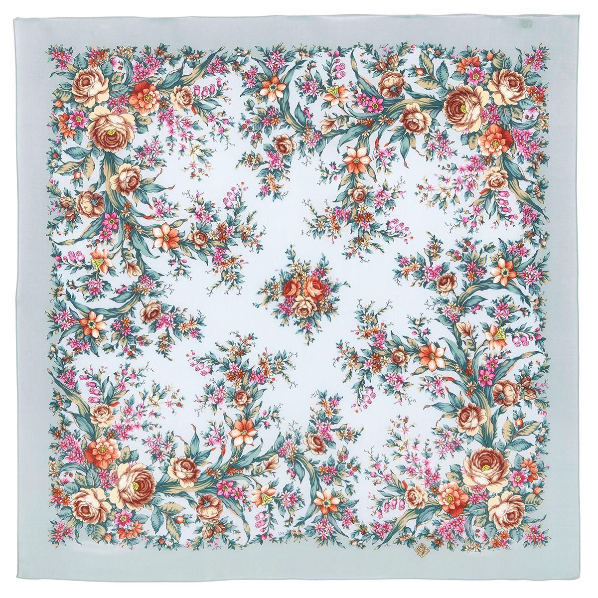 Платок «Цветочное настроение» 1732-1