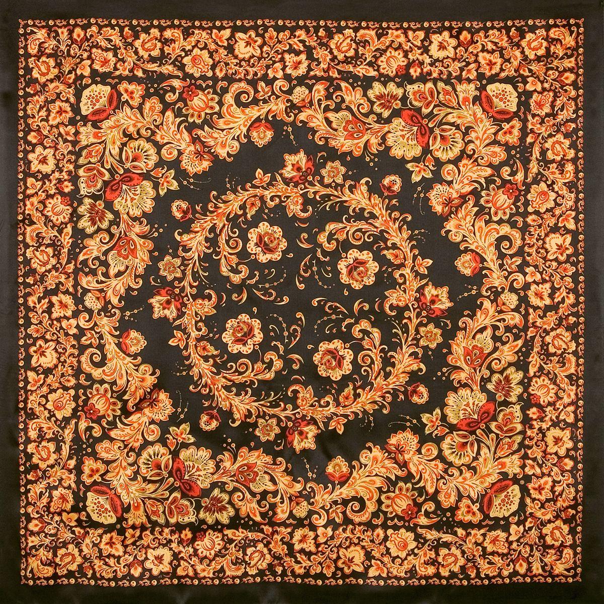 Платок «Хохломские узоры» 1499-18