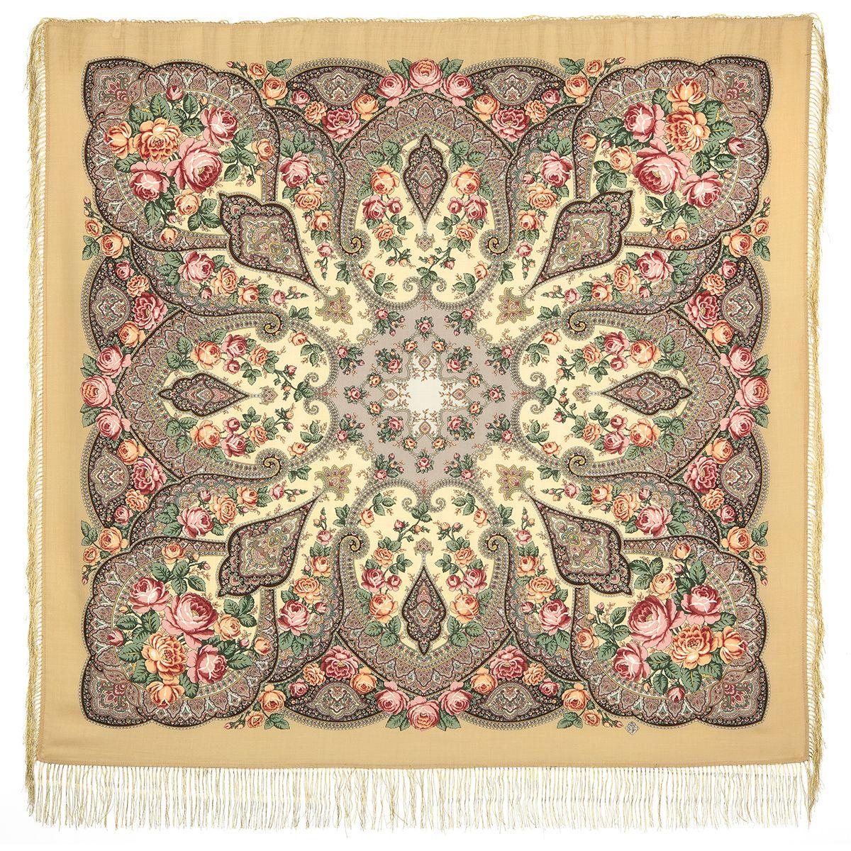 Платок «Розовые дали» 1639-2