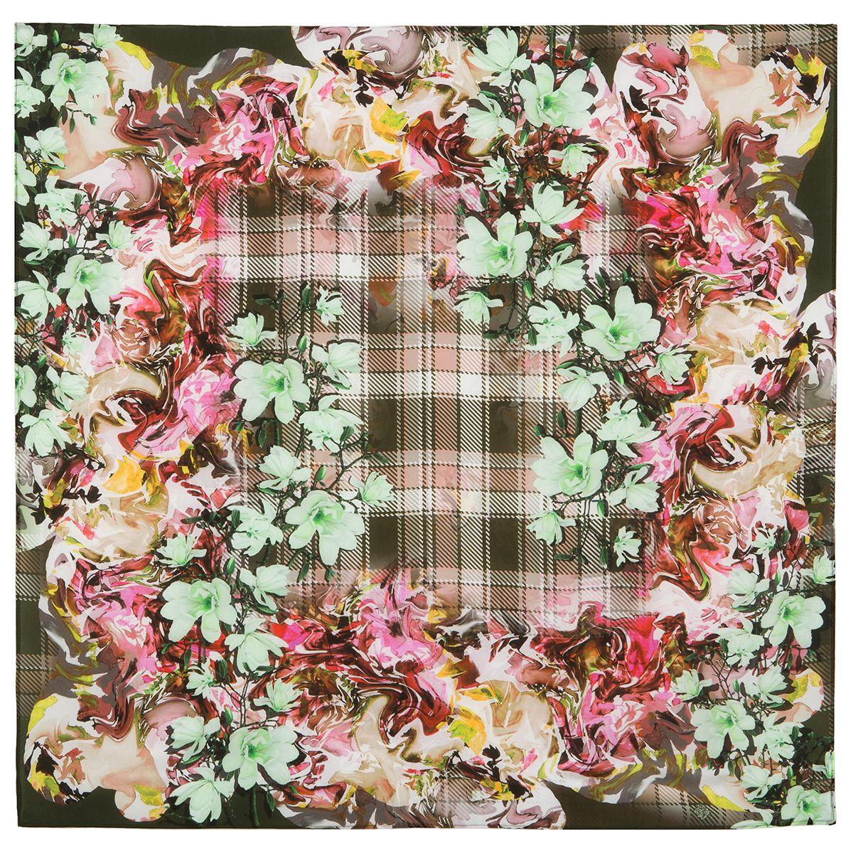 Платок «Весна в Шотландии»