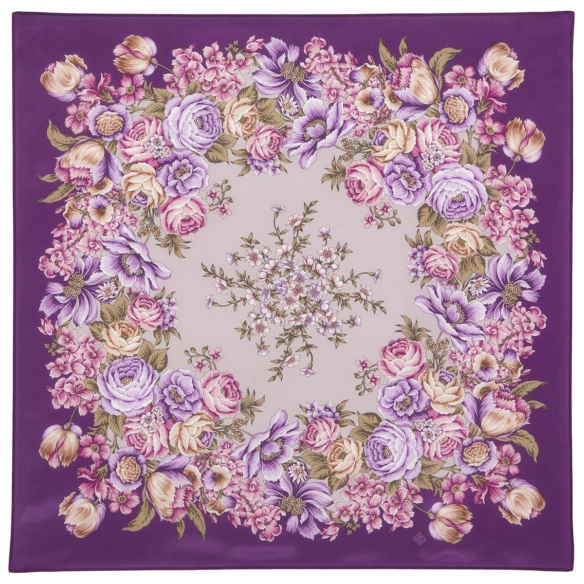 Платок «Цветы для любимой» 1595-15