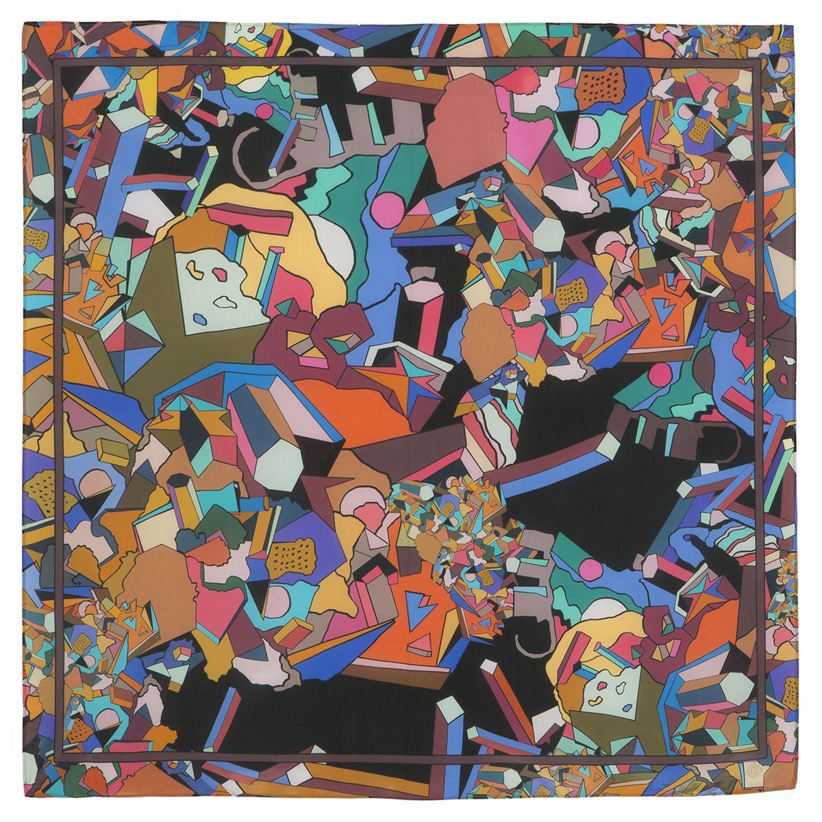 Платок «В лабиринте снов» 10061-7