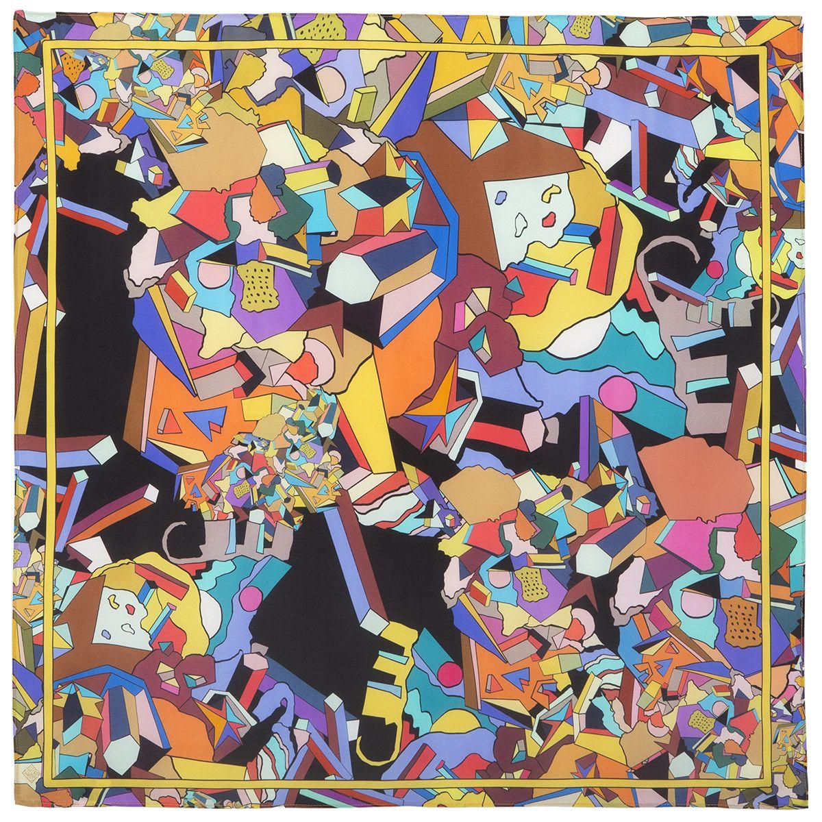 Платок «В лабиринте снов» 10061-18
