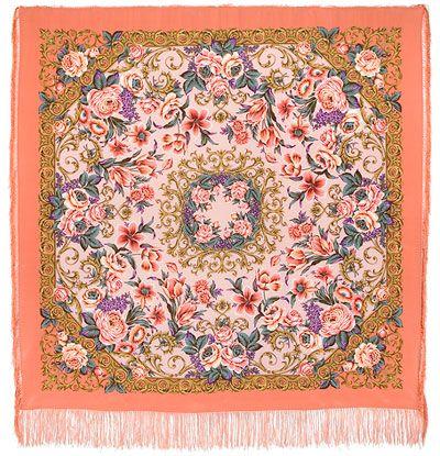 Платок «Королевский бал» 1470-3