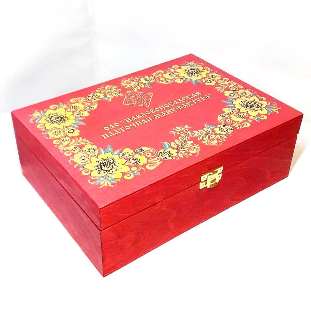 Подарочная упаковка Шкатулка (бол)